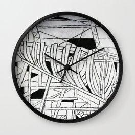 Nautical Ribcage Wall Clock