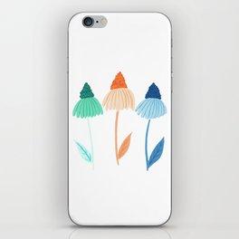 Cone Flowers iPhone Skin