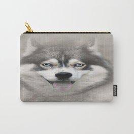 Siberian Husky 2 Carry-All Pouch