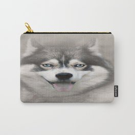 Siberian Husky 2 Carry-All Pouch