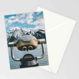 Lake Minnewanka III Stationery Cards