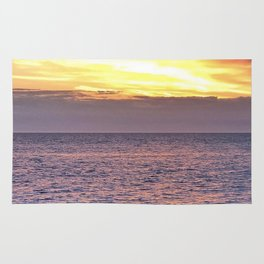 Seacape sunset Rug