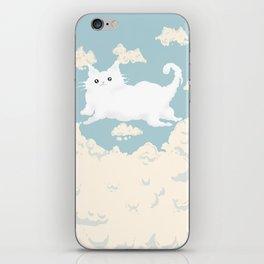 Cat Cloud iPhone Skin