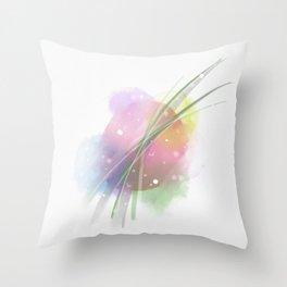 Spot of Color Throw Pillow