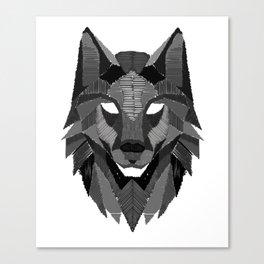 Wolf Head Wolves Pack Alpha Carnivore Mammals Fur Animals Wildlife Forest Nature Gift Canvas Print