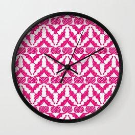 Radish Pink Pop Wall Clock