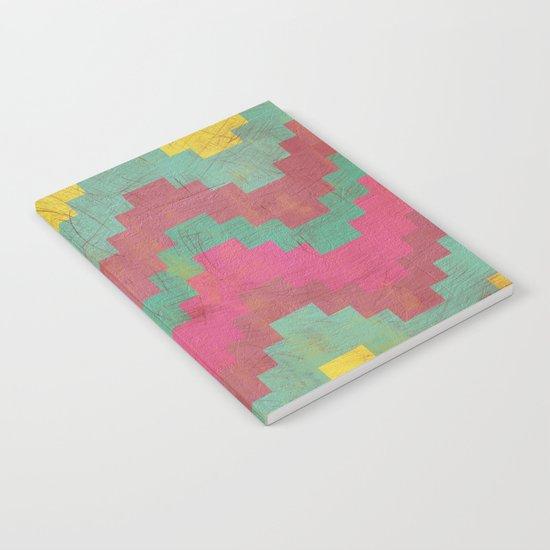 Aztec Vintage Pattern 01 Notebook
