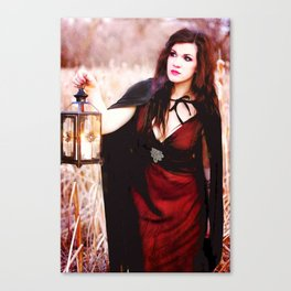Is She a Good Witch or a Bad Witch?  Canvas Print