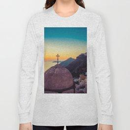 Adorable Santorini Long Sleeve T-shirt
