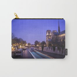 Notre Dame Evenings Carry-All Pouch