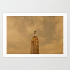 Empire State Isolation (for devices) Art Print