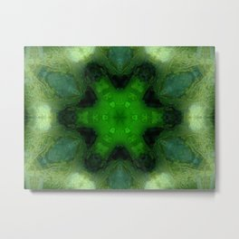 Zelenca Abstract Metal Print