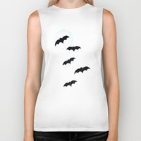 bats Biker Tanks featuring Bats by Jude's