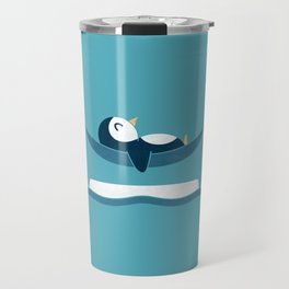 Chilling With Narwhals Travel Mug