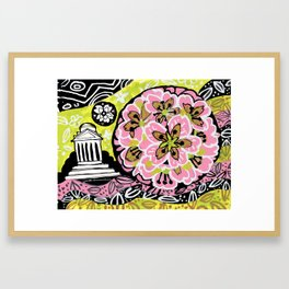 Blossom Ball Framed Art Print