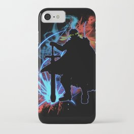 Super Smash Bros. Ike Silhouette iPhone Case