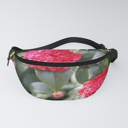Winter Camellia Fanny Pack