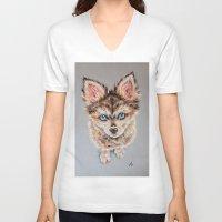 nemo V-neck T-shirts featuring Nemo by Deppyjo