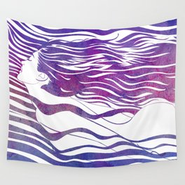 Water Nymph VI Wall Tapestry