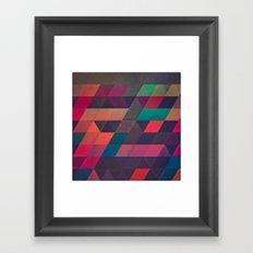 th'byrgynynng Framed Art Print