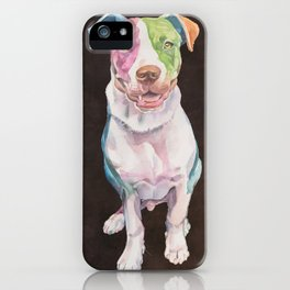 American Bull Terrier iPhone Case