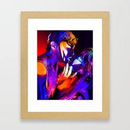 Star Crossed Lovers Framed Art Print