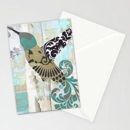 Hummingbird Batik I Stationery Cards