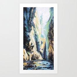 oneonta gorge, Oregon Art Print