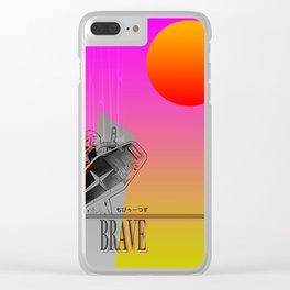 Brave RX Clear iPhone Case