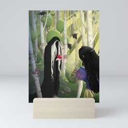 Snow White and the Witch Mini Art Print