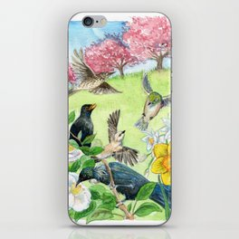 Spring in New Zealand iPhone Skin