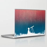 budi satria kwan Laptop & iPad Skins featuring Meteor Rain (light version) by Picomodi