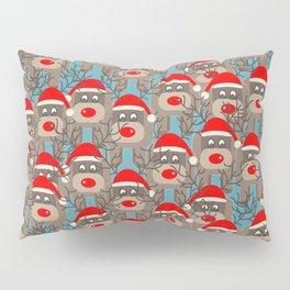 Santa Reindeers Pillow Sham