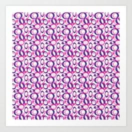Oblong Pattern Art Print