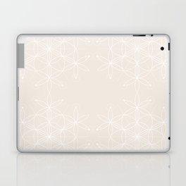 Gardenia Geometric Floral Laptop & iPad Skin