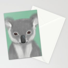 Baby Koala Bear Stationery Cards