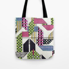 Ribbons with Patterns Tote Bag