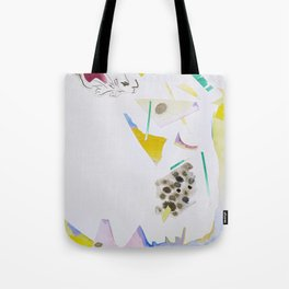 Paper Cutouts Collage  Tote Bag