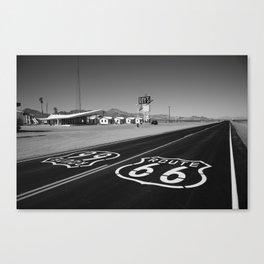 Route 66 Shield 2012 Canvas Print
