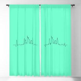 New York Music Blackout Curtain