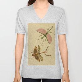 Naturalist Stick Bugs Unisex V-Neck