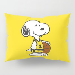 snoopy basketball Pillow Sham