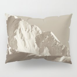 Alaskan Mts. - Mono I Pillow Sham
