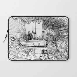 Whittier coffee shop, Denver Laptop Sleeve