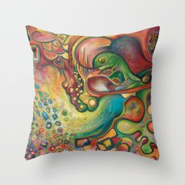 Gumball Throw Pillow