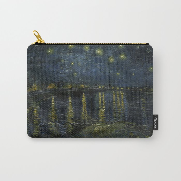 Starry Night Over the Rhone by Van Gogh Carry-All Pouch