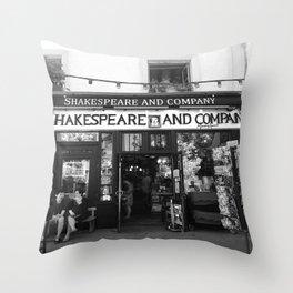Shakespeare Love Throw Pillow