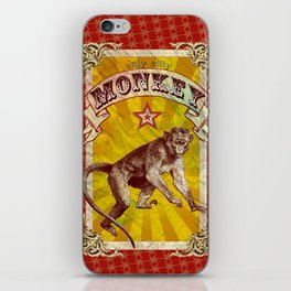 Silly, Silly Monkey iPhone Skin