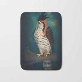 The ornate hawk-eagle is a bird of prey. Bath Mat
