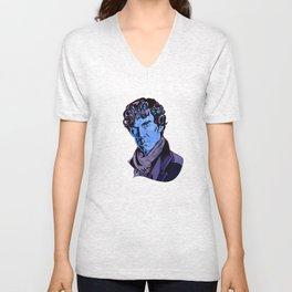 SHERLOCK's locks  Unisex V-Neck